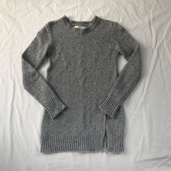 Cloth by RD Grey Speckled Knit Sweater